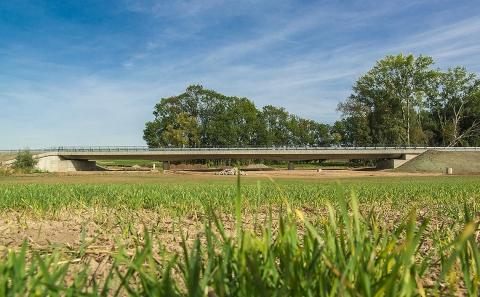 Celkový pohled na most č.16-006