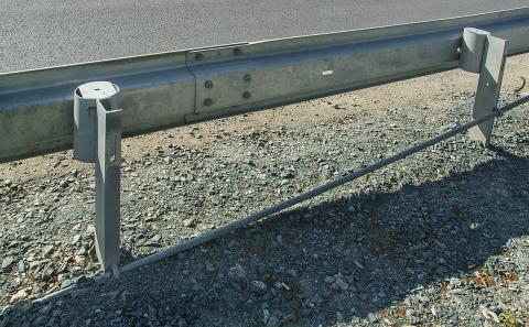 Detail ukončení výztužné tyče