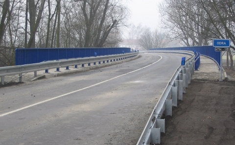 Svodidla MS4/H2 na mostě 4734