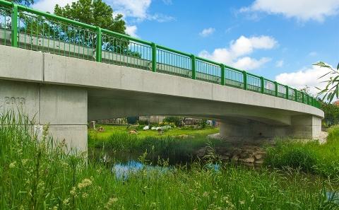 Mostní objekt II/361-003 přes říčku Rokytná
