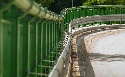 Svodidla na mostním objektu II/361-003