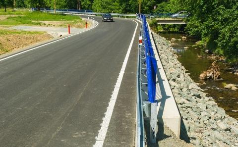 Nová silnice v Pilském údolí