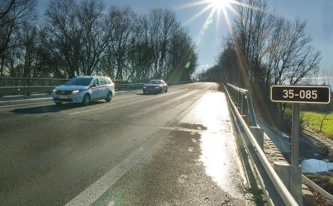 Mostní objekt na silnici I/35