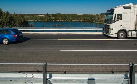 Most se svodidlem ZMS4/H3 přes v.n. Švihov